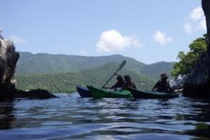 kayaks at Dhasi island