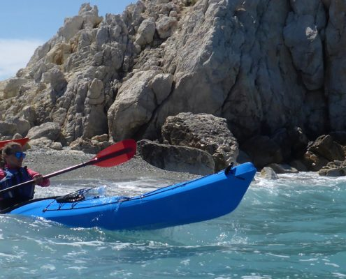 sea kayak coaching week 1